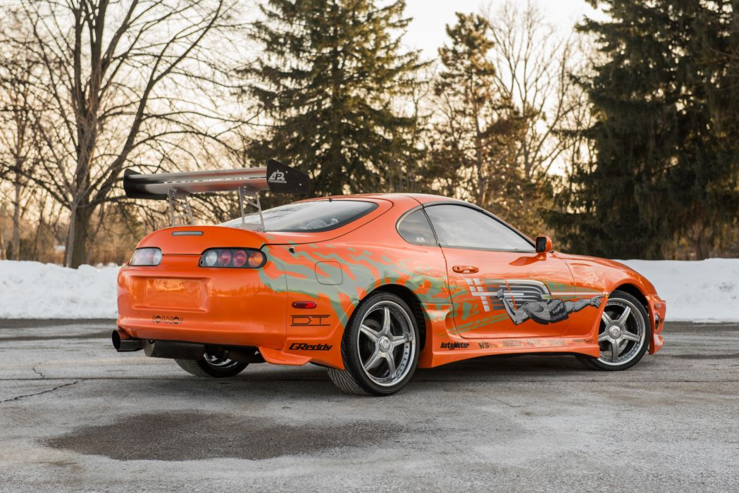 Toyota Supra The Fast and the Furious JZA80 2001 USA 6000x4006-12 wallpaper