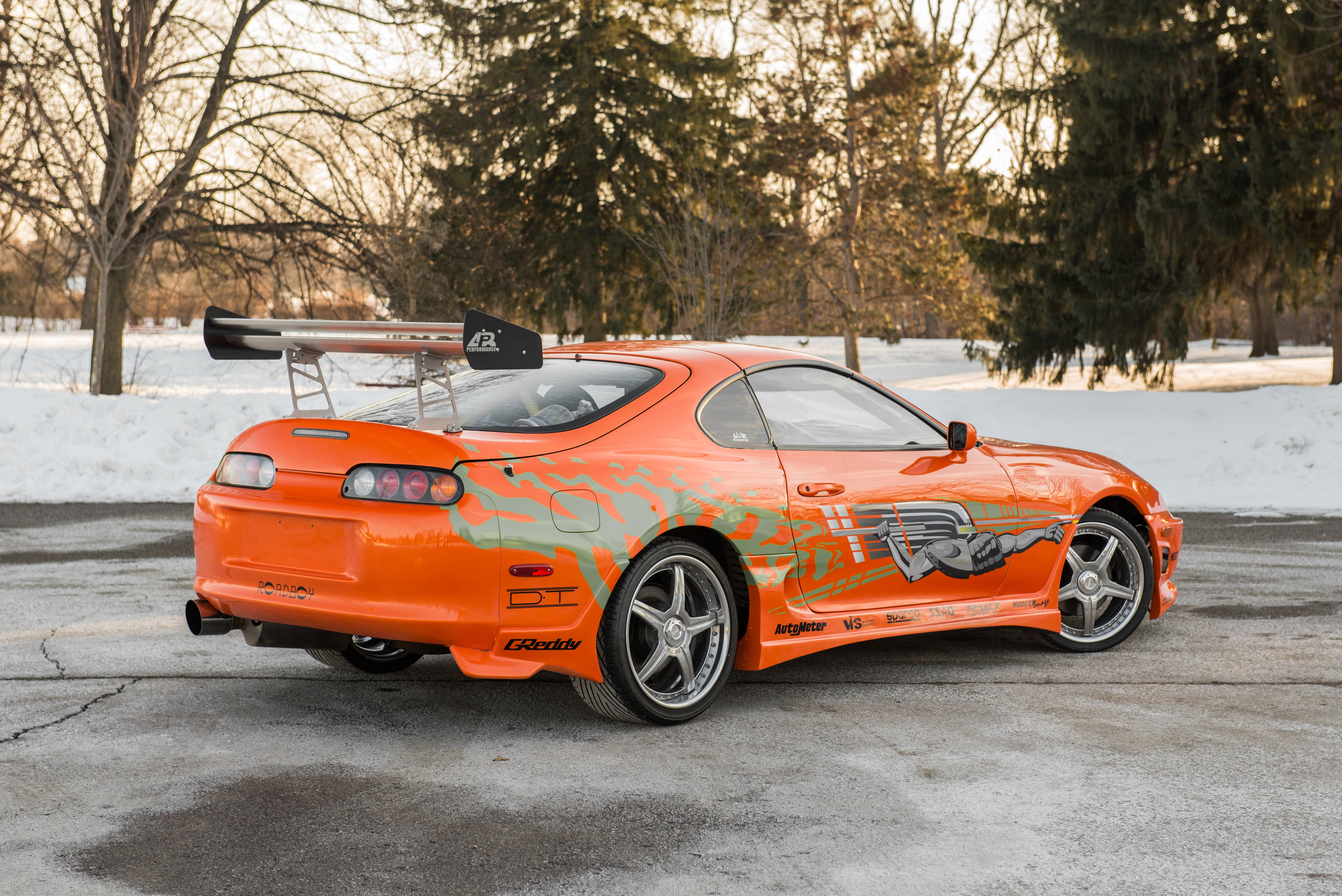 Toyota Supra The Fast and the Furious - 3720.6KB