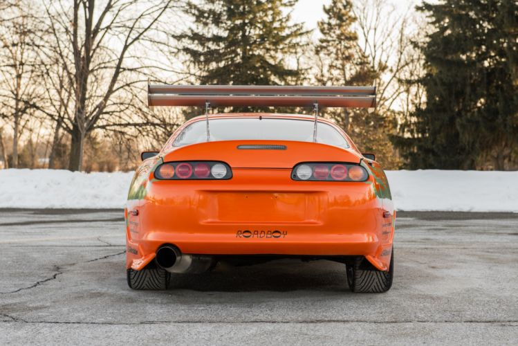Toyota Supra The Fast and the Furious JZA80 2001 USA 6000x4006-15 wallpaper