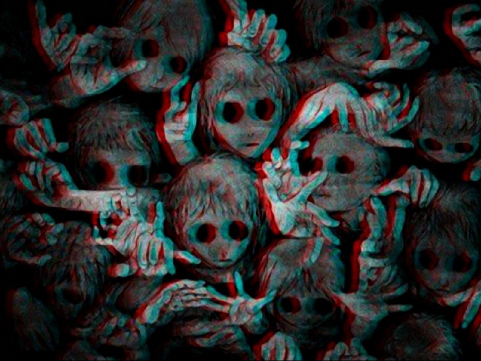 Dark creepy scary horror evil art artwork wallpaper ... Hd Wallpaper 1920x1080 Download