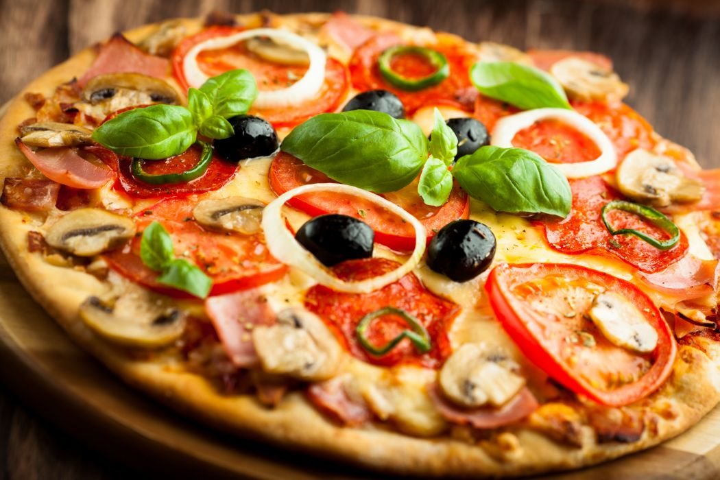 pizzas ingredientes comida wallpaper
