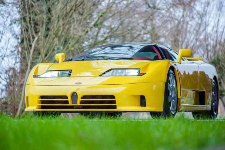 Bugatti EB110 S S 1993 cars supercars wallpaper