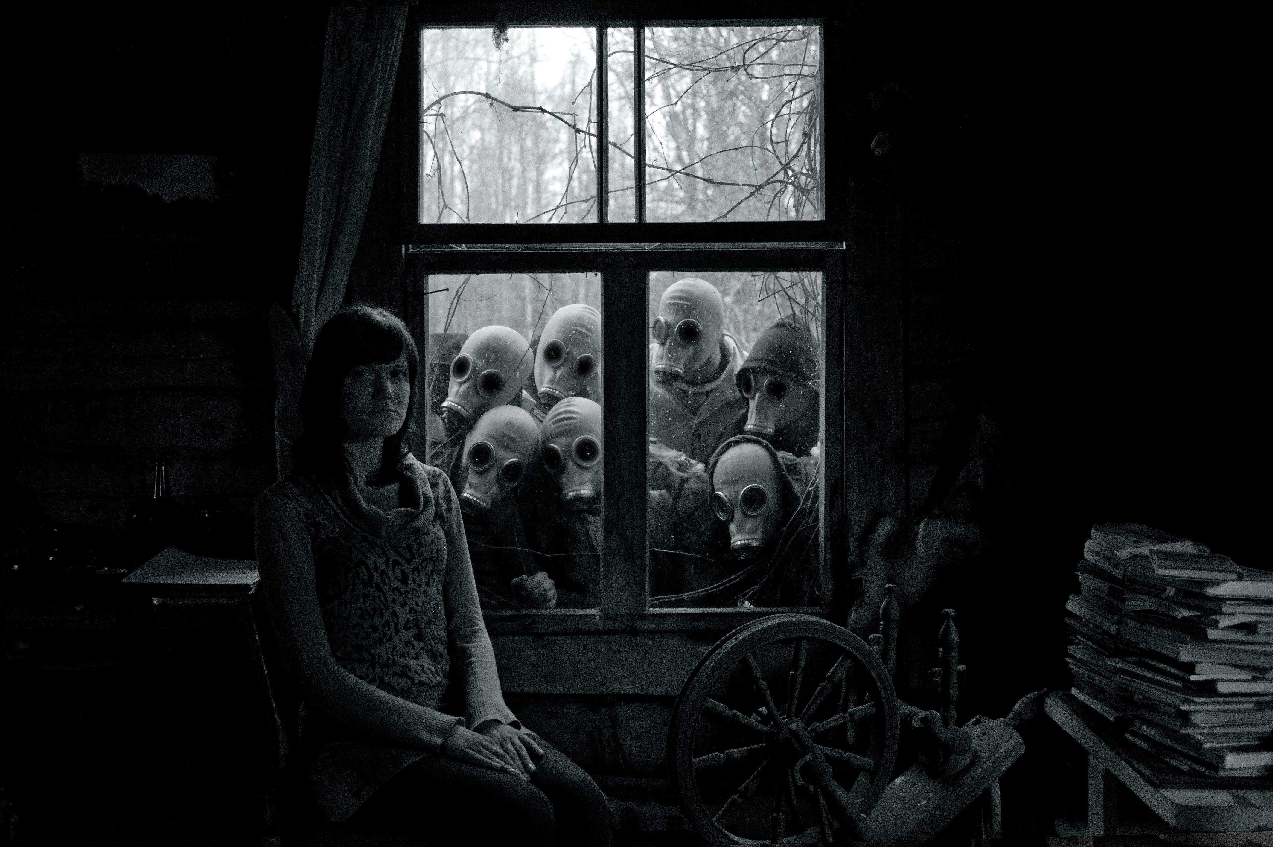 abstract brunettes creepy dark - photo #24