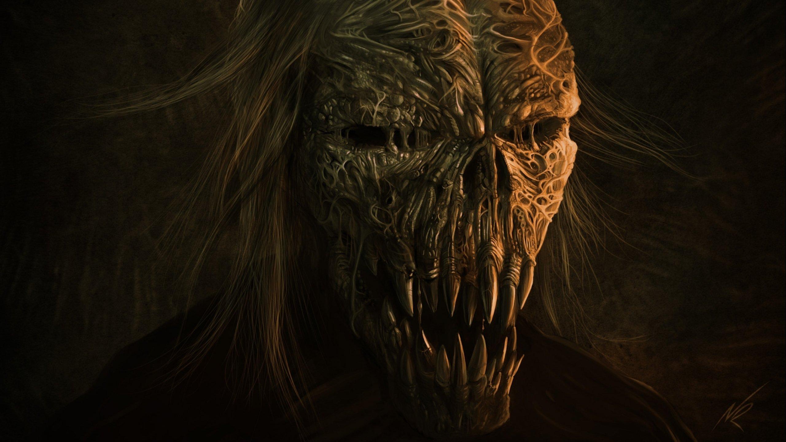 demon skull wallpaper - photo #39