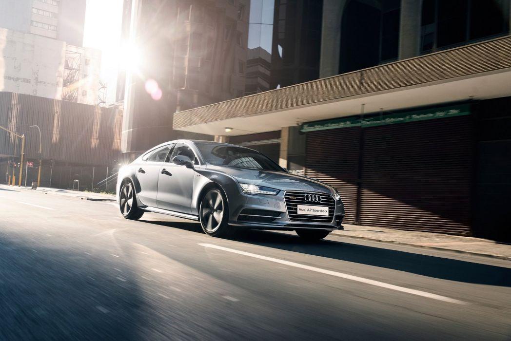 Audi A7 Sportback 3 0 TDI quattro S-line ZA-spec 2015 cars wallpaper