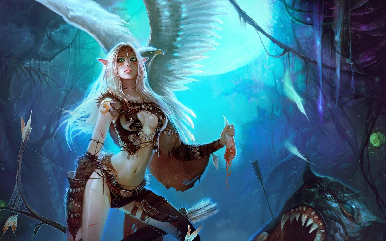 Elf monster girl sexual image