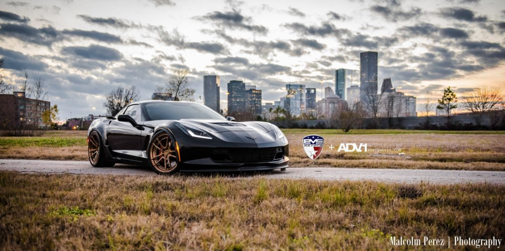 ADV 1 WHEELS CHEVROLET CORVETTE Z06 cars tuning wallpaper