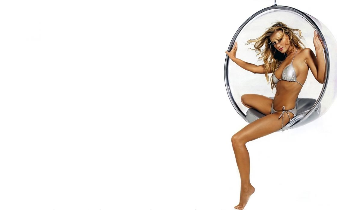 SENSUALITY - Joanna Krupa girl blonde legs bikini wallpaper