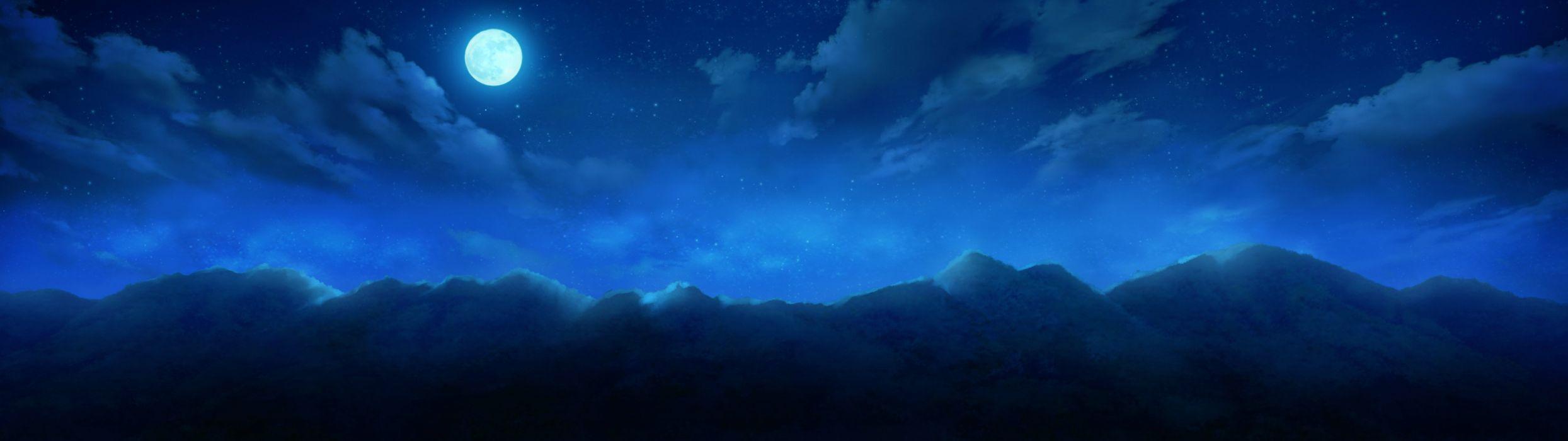 -monobeno-cura-highres-wide+image-game+cg-cloud+(clouds) wallpaper