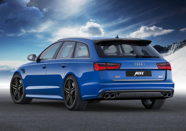 ABT Audi S6 Avant wagon cars tuning 2015 wallpaper