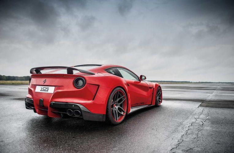 Novitec N-Largo Ferrari F12 berlinetta bodykit tuning 2015 supercars cars red wallpaper