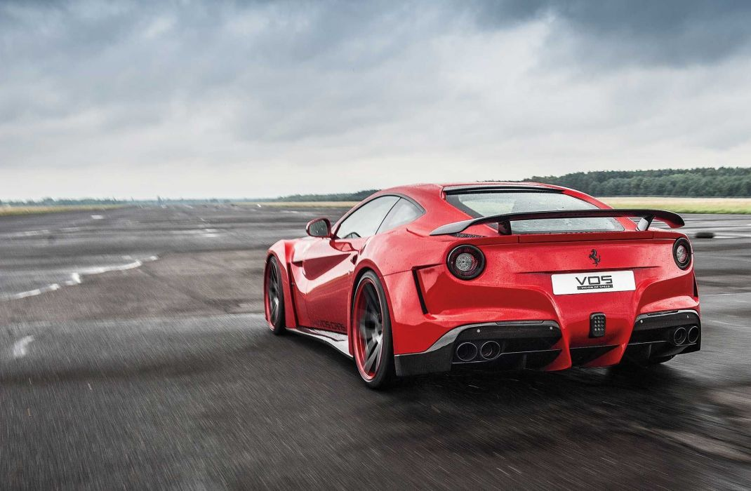 Novitec N-Largo Ferrari F12 berlinetta bodykit tuning 2015 supercars cars red wallpaper