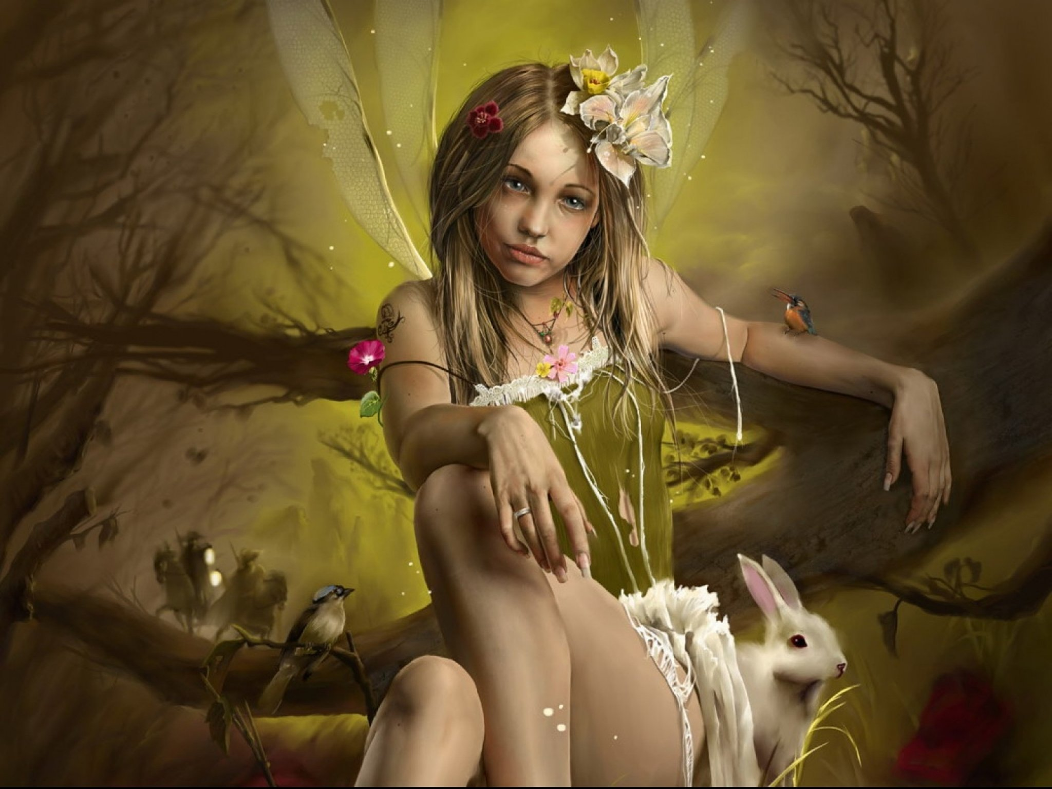 girl from a fairy - photo #8