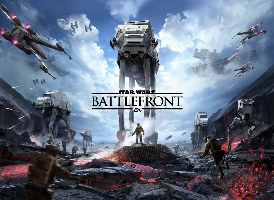 STAR WARS BATTLEFRONT sci-fi fps shooter action 1swbattlefront spaceship wallpaper