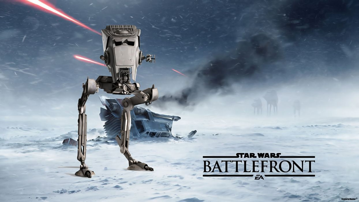 STAR WARS BATTLEFRONT sci-fi fps shooter action 1swbattlefront wallpaper