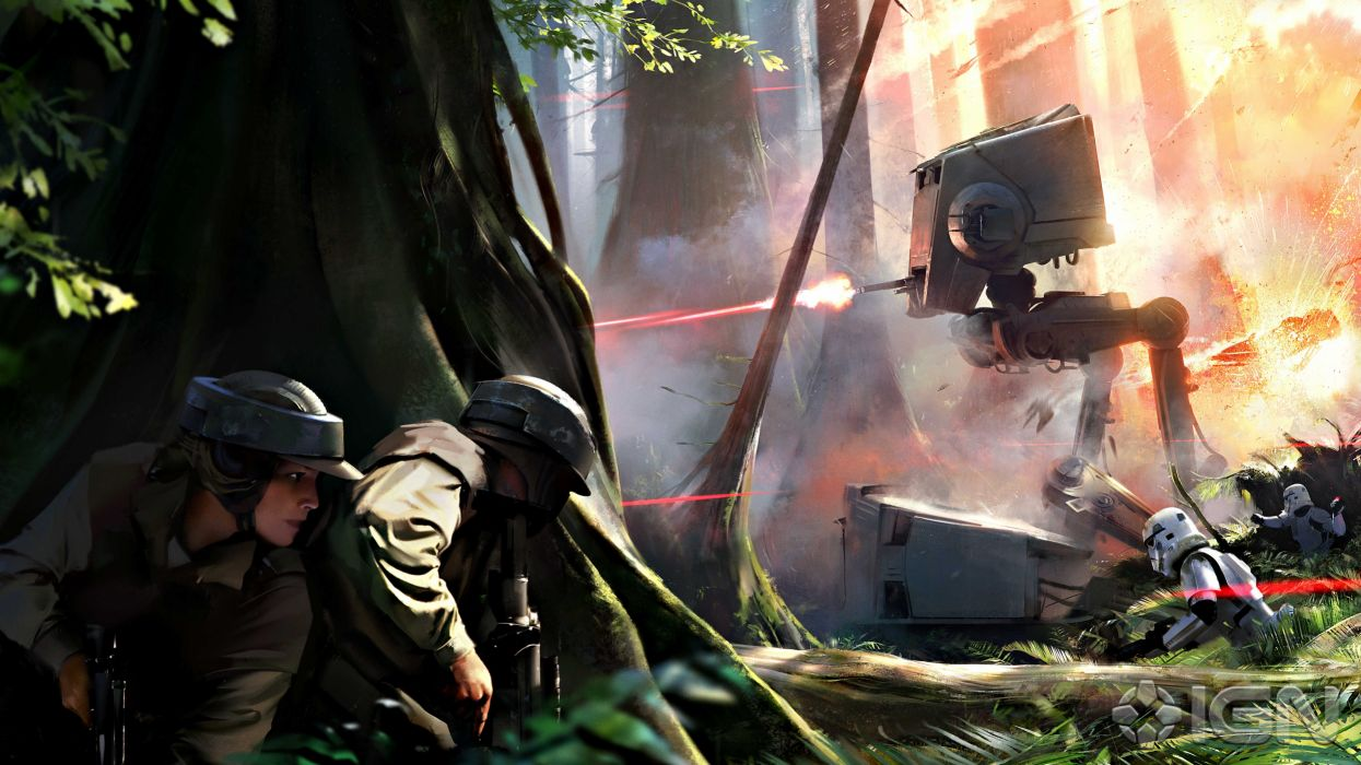 STAR WARS BATTLEFRONT sci-fi fps shooter action 1swbattlefront wallpaper