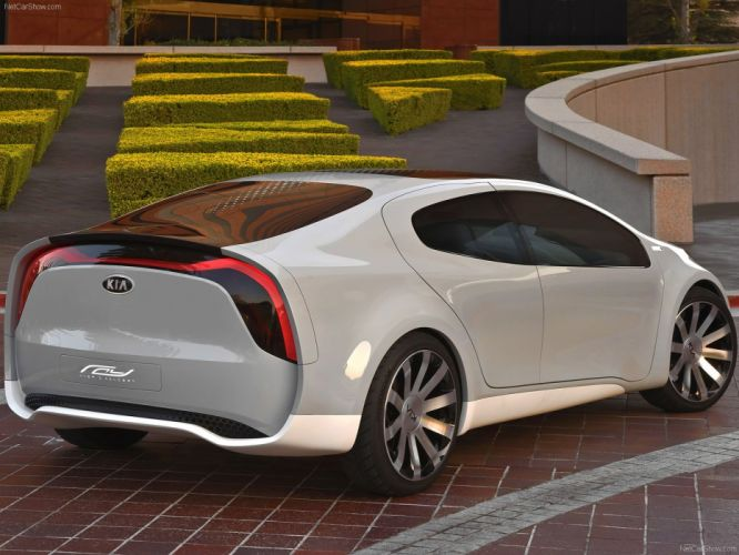 Kia Ray Plug-In Hybrid Concept cars 2010 wallpaper