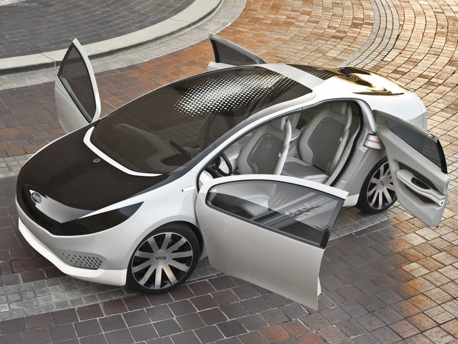 Kia Ray Plug-In Hybrid Concept cars 2010 wallpaper