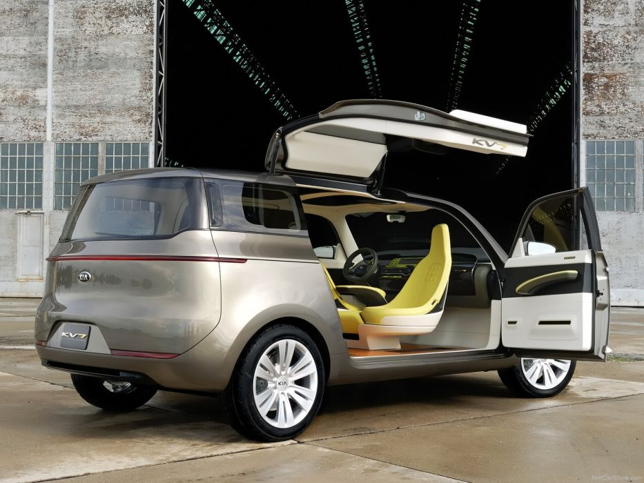 Kia KV7 Concept cars 2011 wallpaper