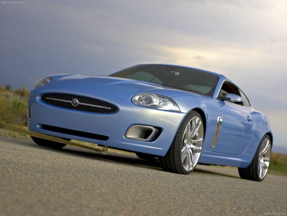 2005 Jaguar Advanced Lightweight Coupe Concept cars wallpaper