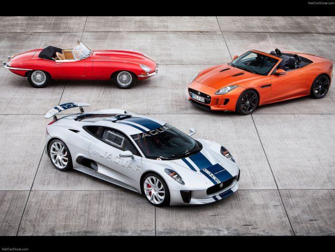 2013 C-X75 cars Concept jaguar supercars wallpaper