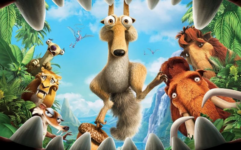 ice-age-3-dawn-of-the-dinosaurs- wallpaper