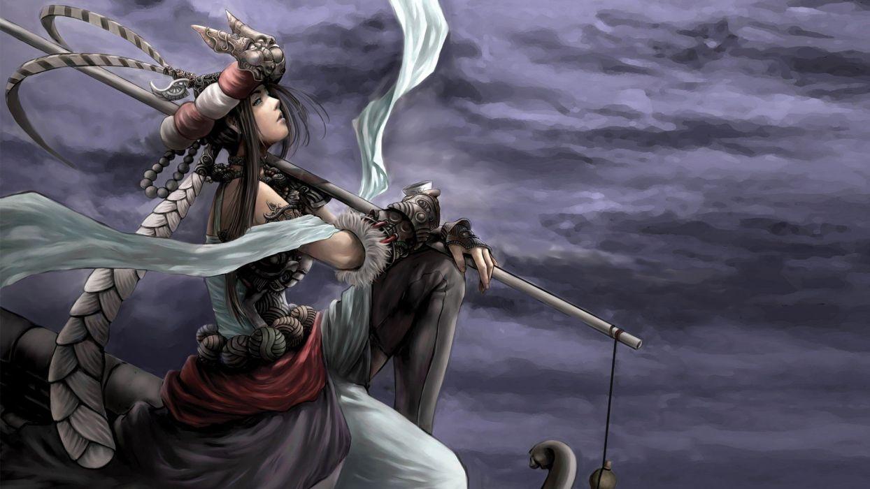 Fantasy Woman Nomad wallpaper