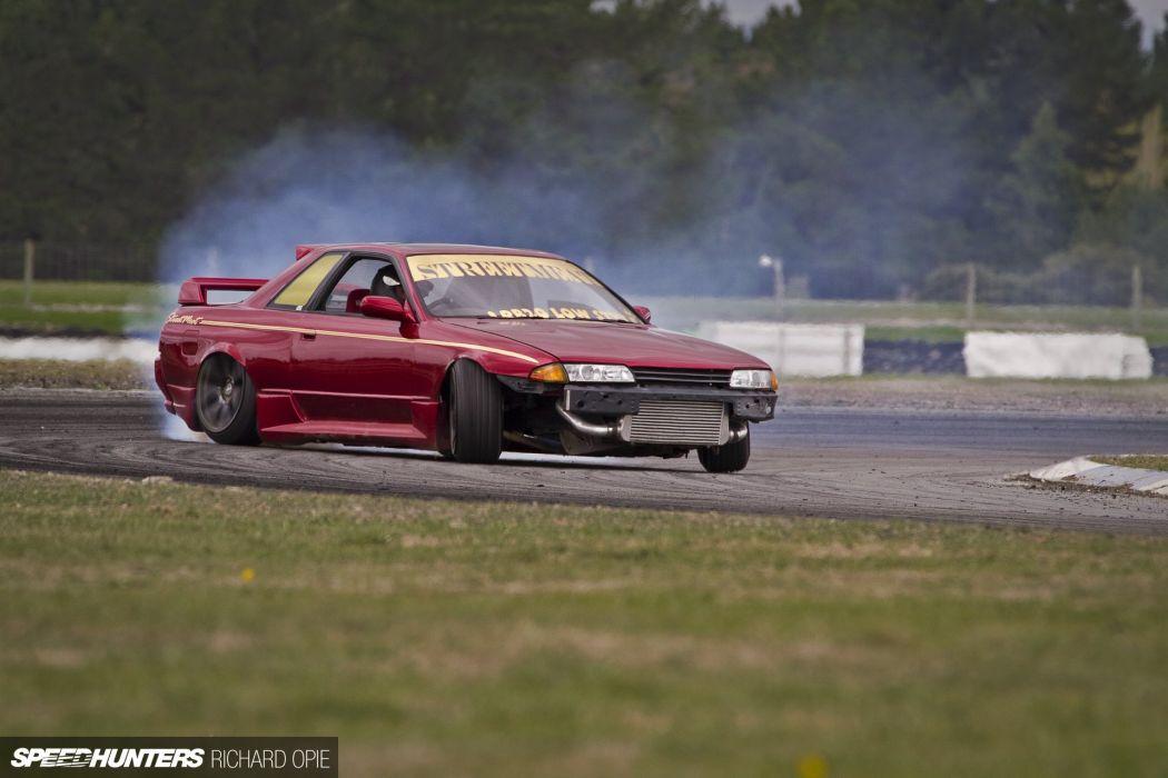 Drift Drifting New Zealand Nissan R32 Skyline Race Racing