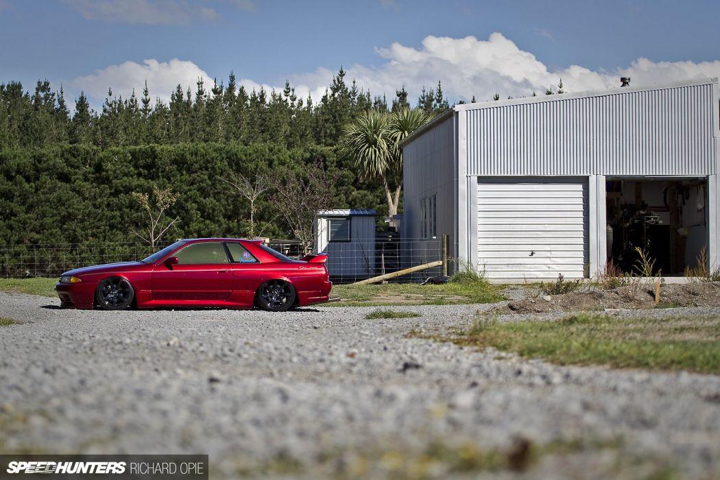 drift Drifting New Zealand Nissan R32 Skyline race racing wallpaper