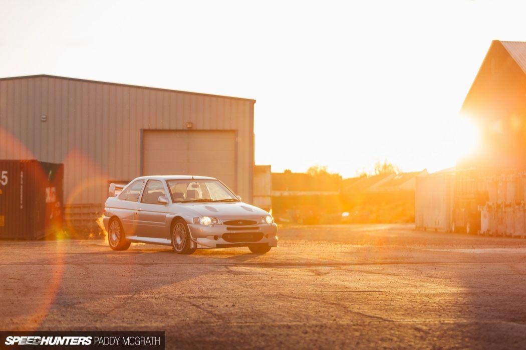 Ford Escort RS Cosworth tuning drift wallpaper