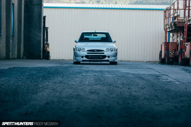 Ford Escort RS Cosworth tuning drift wallpaper