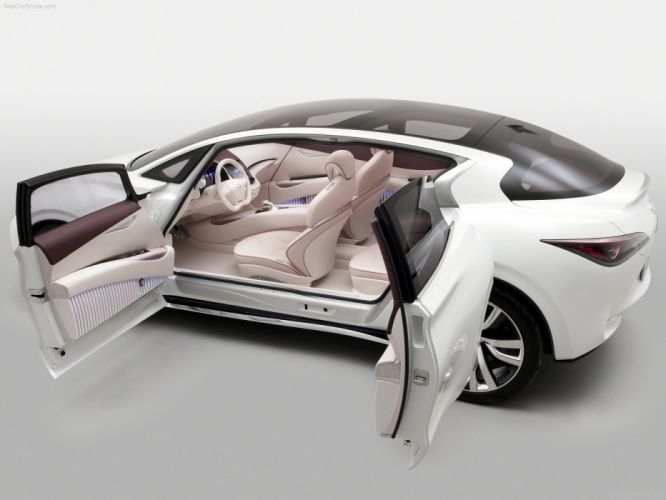 2011 Concept etherea infiniti cars wallpaper