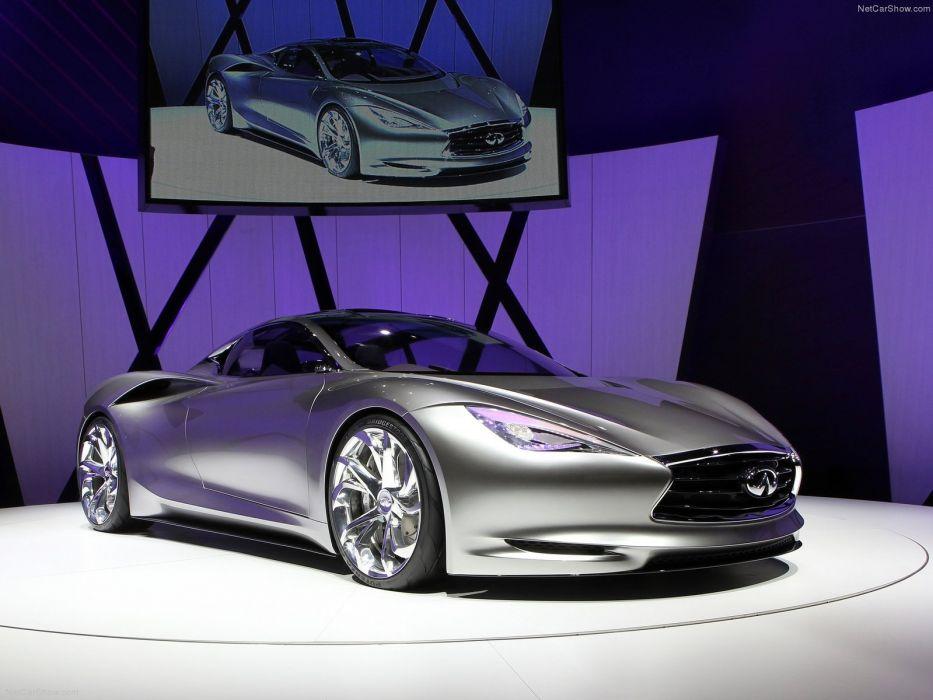 Infiniti Emerg-E Concept cars 2012 wallpaper