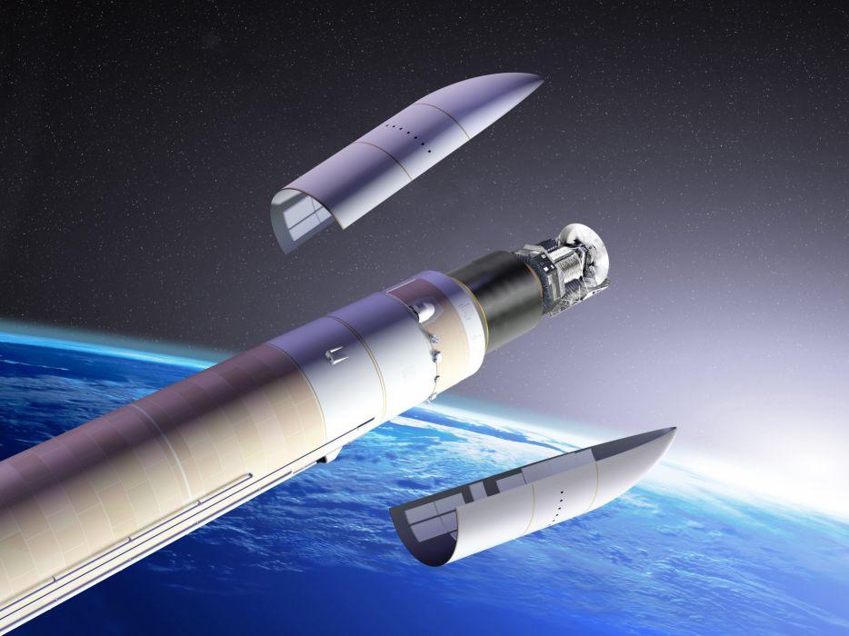 rocket space spacship sci-fi wallpaper