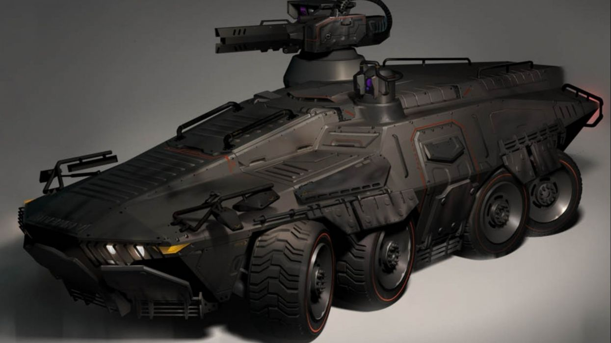 Sci Fi Futuristic Art Artwork Vehicle Transport Vehicles