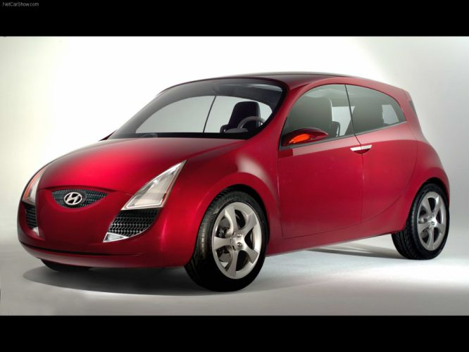 2005 Concept hed hyundai cars wallpaper