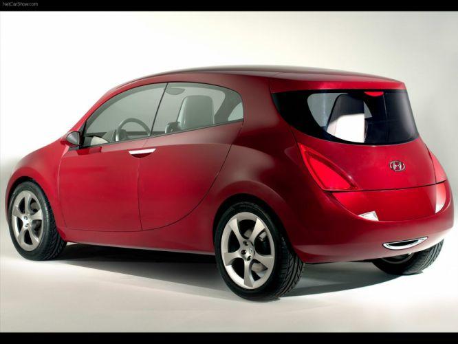 2005 Concept hed hyundai cars wallpaper