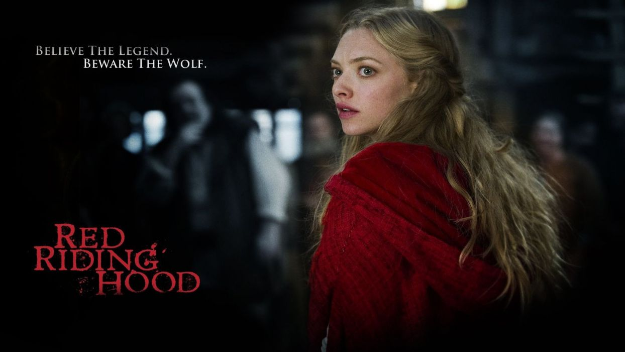 Movies Amanda Seyfried Red Riding Hood Valerie wallpaper