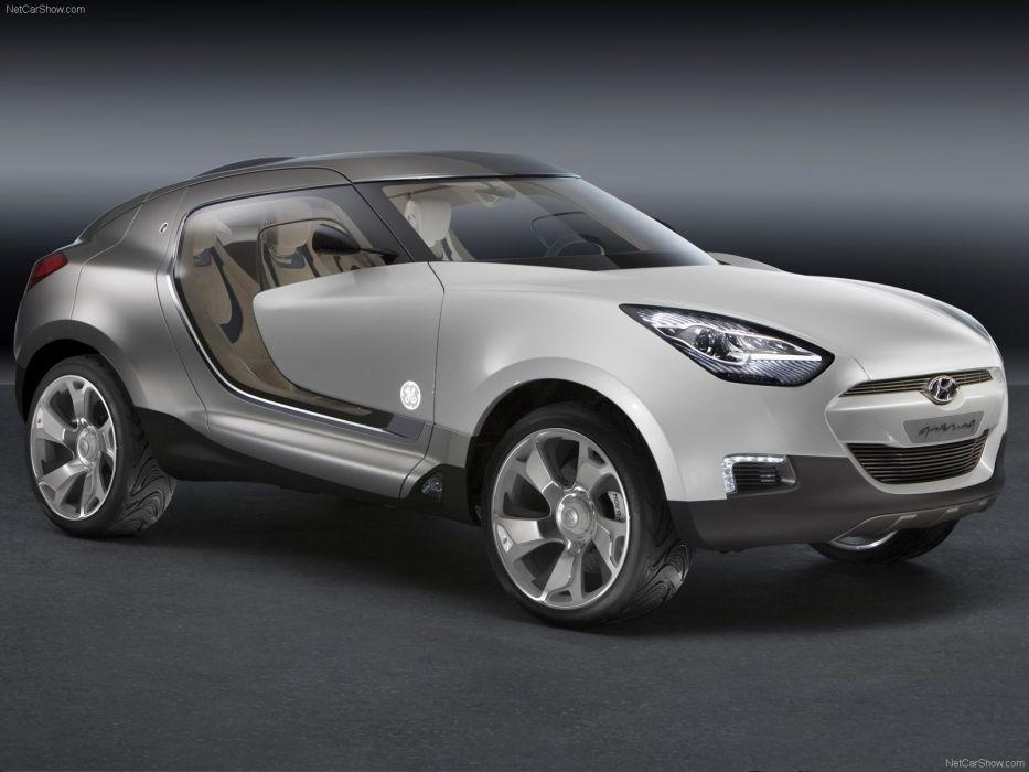 2007 Concept hyundai qarmaq cars wallpaper