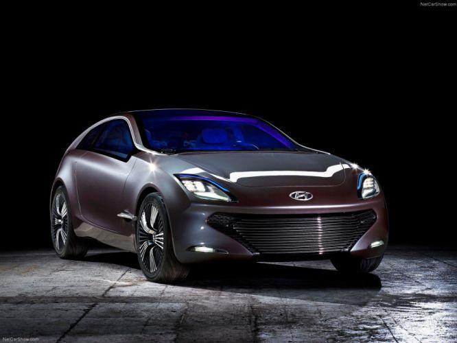 Hyundai i-ioniq Concept cars 2012 wallpaper