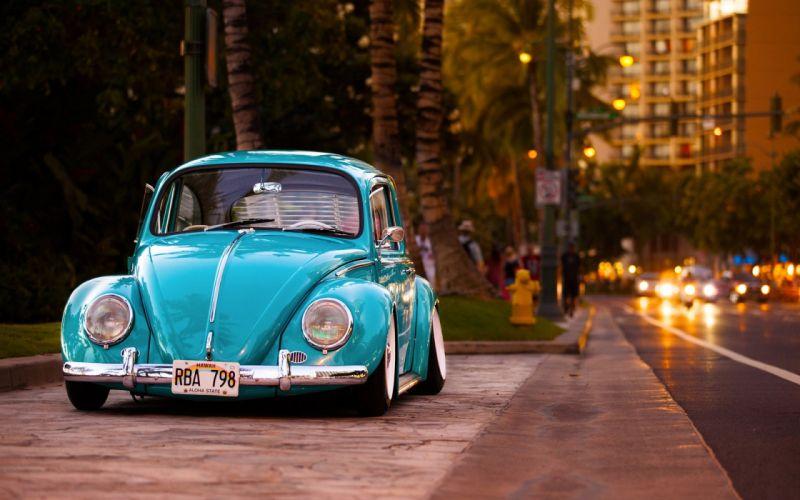 Cars Volkswagen VW Volkswagen Beetle wallpaper