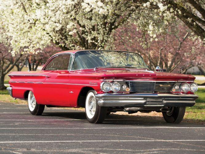 1960 Pontiac Bonneville Sport Coupe classic cars wallpaper
