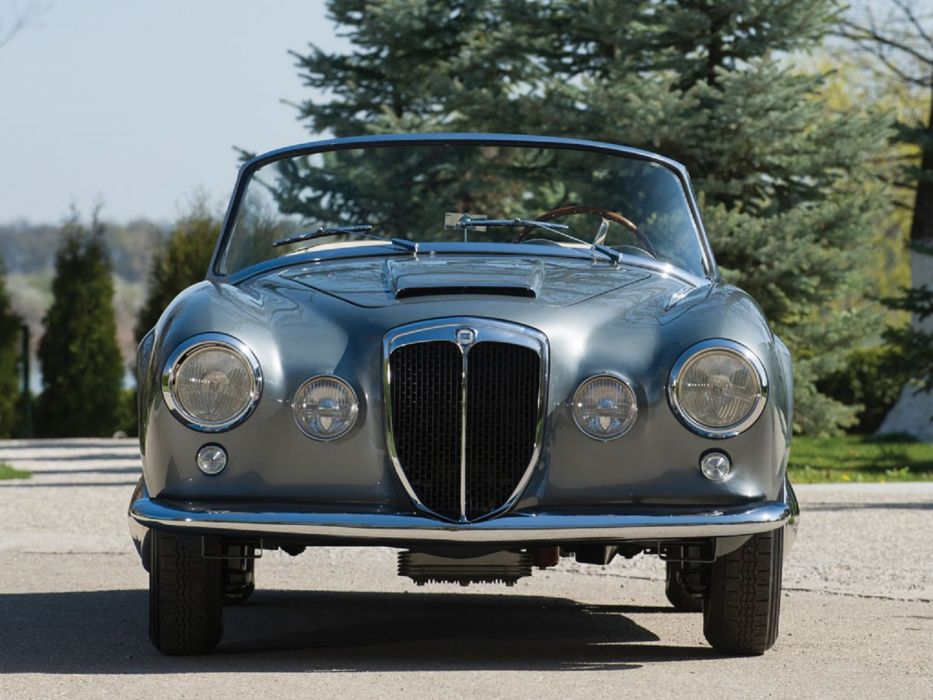 1958 Lancia Aurelia B24S Convertible Pinin Farina calssic cars wallpaper