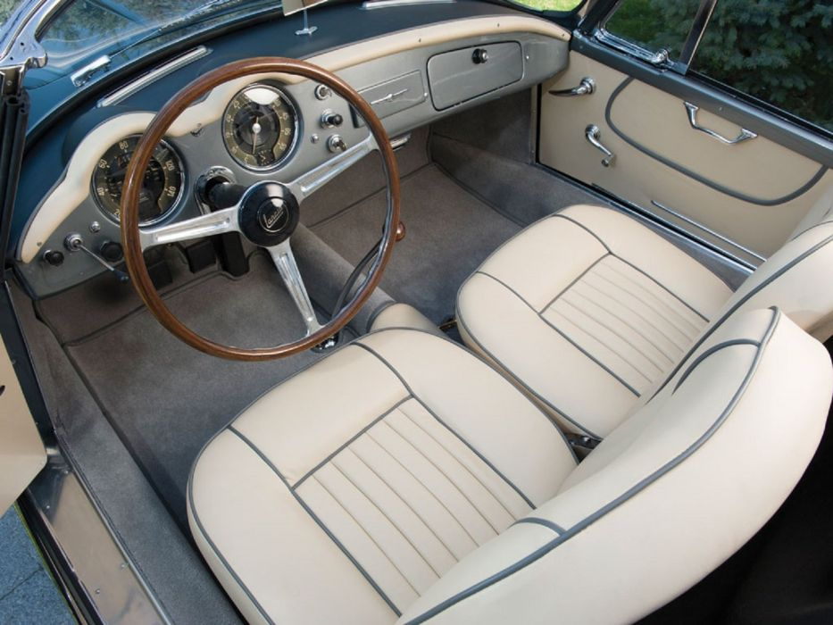 1958 Lancia Aurelia B24S Convertible Pinin Farina calssic cars wallpaper