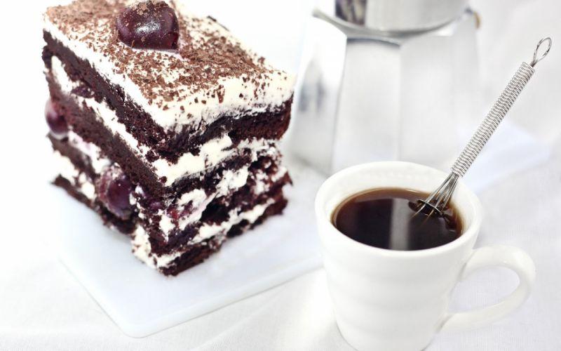 Coffee Cake Cream wallpaper