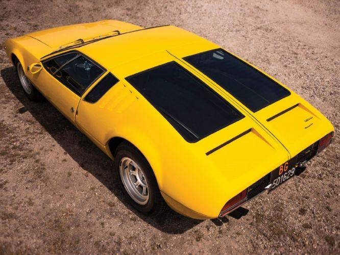 1968 De Tomaso Mangusta coupe cars classic wallpaper