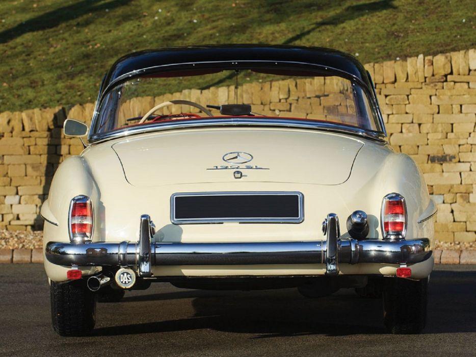 1959 Mercedes Benz 190-SL classic cars convertible wallpaper