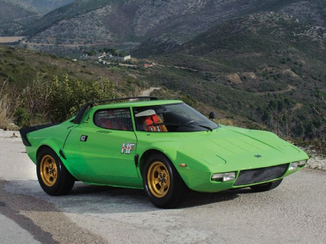 1974 Lancia Stratos HF Stradale cars classic wallpaper