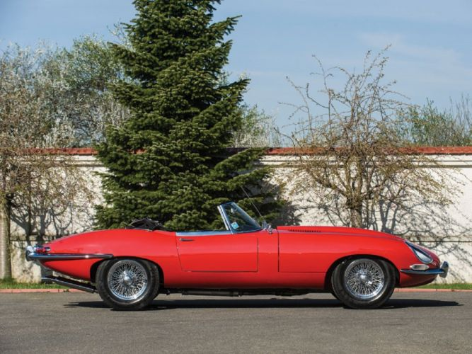 1964 Jaguar E-Type Series 1 3 8-Litre Roadster classic cars wallpaper