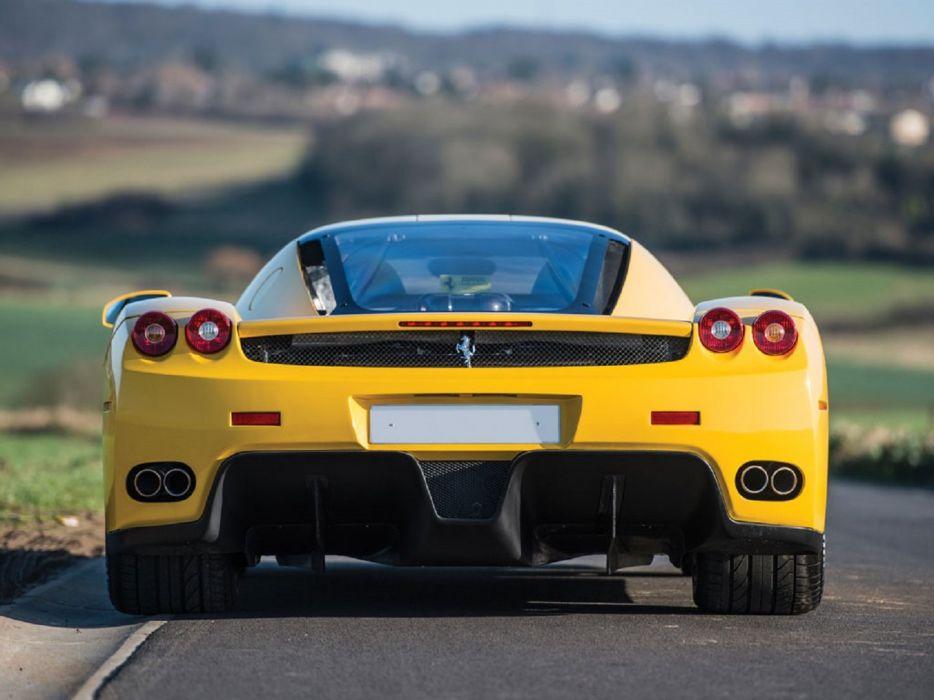 2002 Ferrari Enzo cars supercars yellow wallpaper